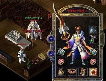 神王传奇顶级专属武器介绍